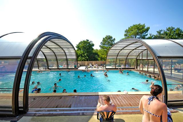 Piscines couvertes - Prix piscine couverte chauffee construction ...
